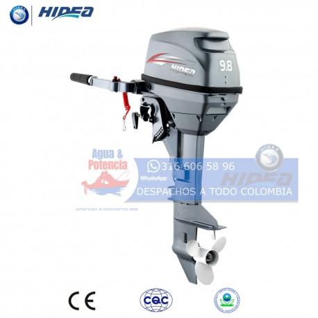 HIDEA 2T 9.8 HP PATA CORTA MOTOR FUERA DE BORDA